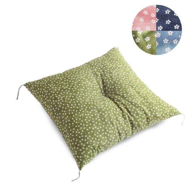 japanese style floor cushion sakura pattern