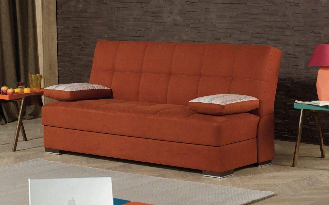 Rainbow Futon Sofa by:Casamode
