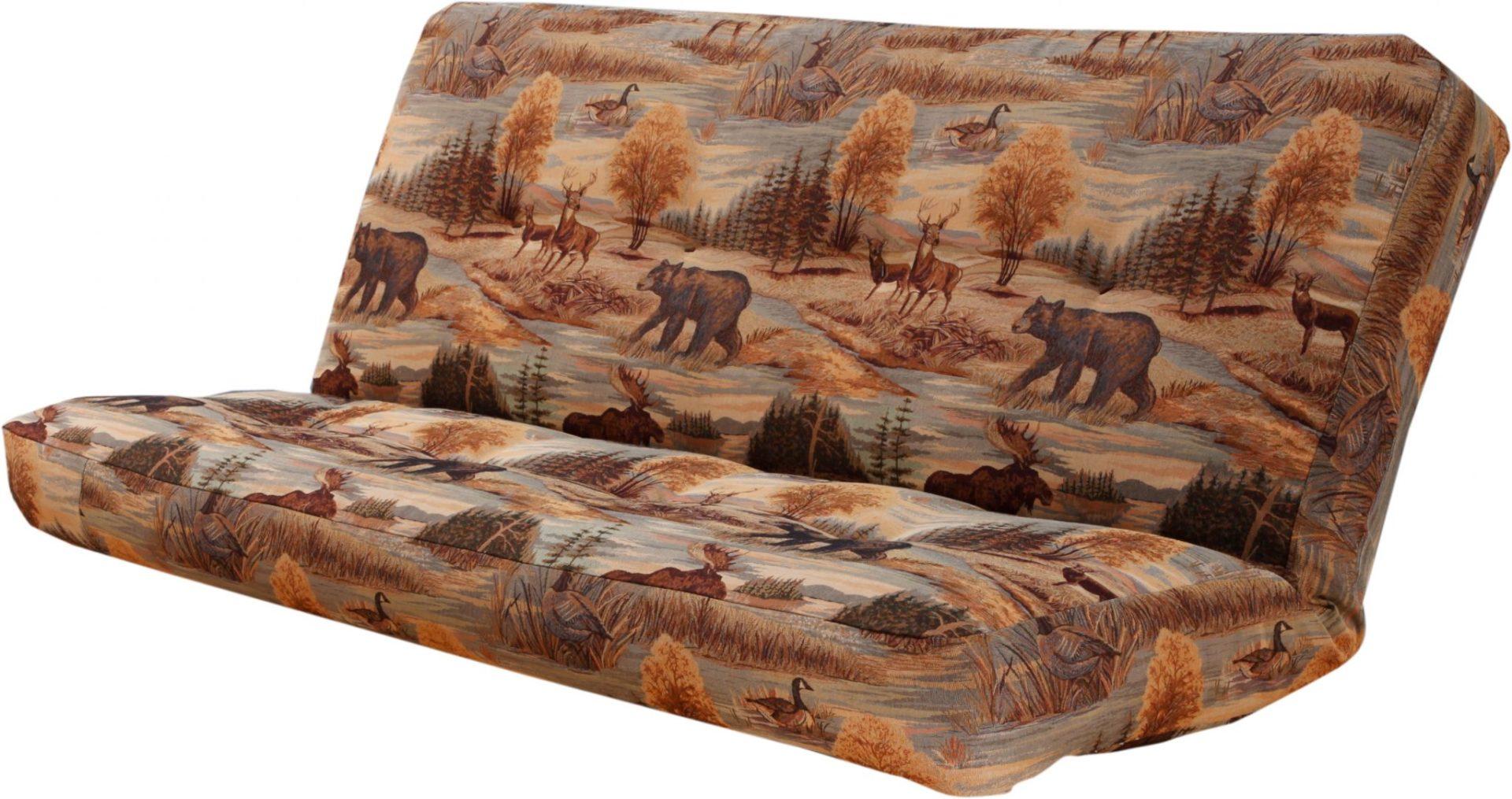 6000 Futon Mattress w Canadian Wildlife Cover