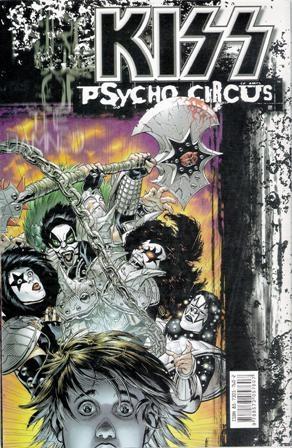 """Reprodução da HQ """"Kiss/Psycho Circus"""""""