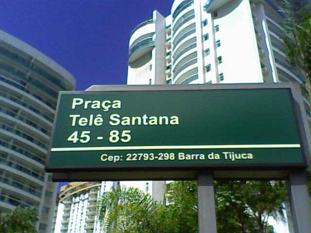Praça que leva nome do mestre, no Rio. FUT POP CLUBE.