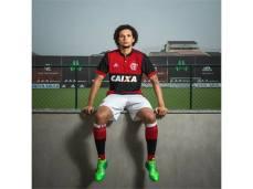 Willian Arão e o uniforme completo
