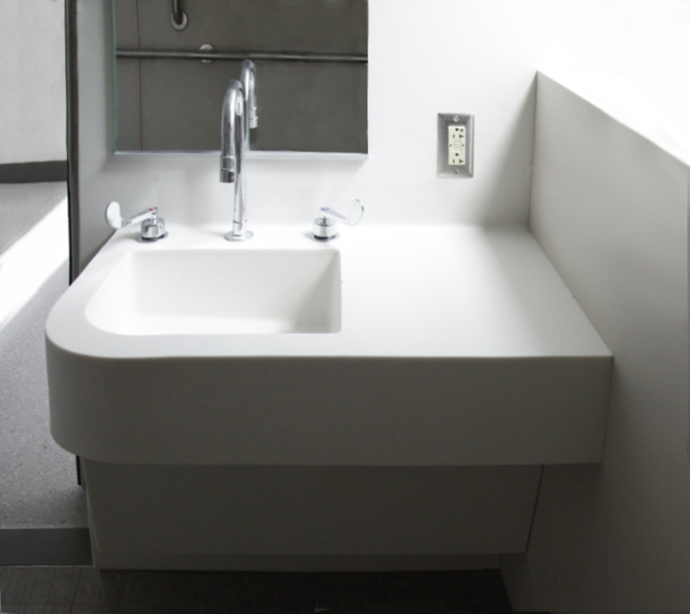 Futrus Solutions with Corian Design  Sink Modules