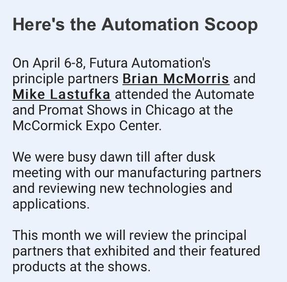 Automate Expo Recap