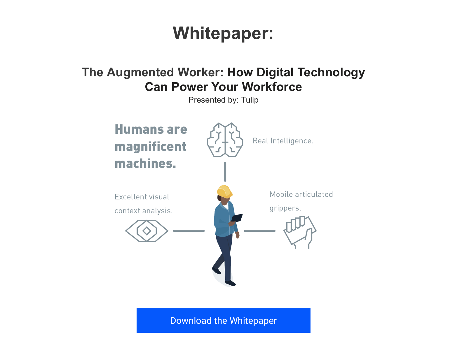 Augmented Worker Whitepaper