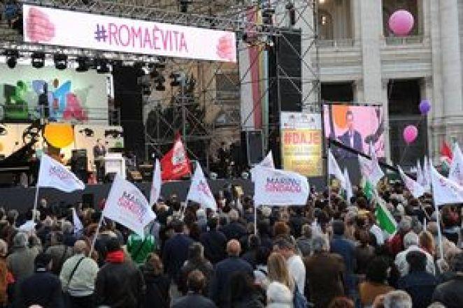 ROMA: MARINO, ADESSO E' IL MOMENTO DI DIRE BASTA