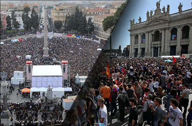 piazze di roma elezioni