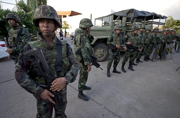 thailandia soldati