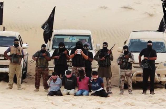 jihad orrore