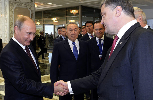 putin e ucraino