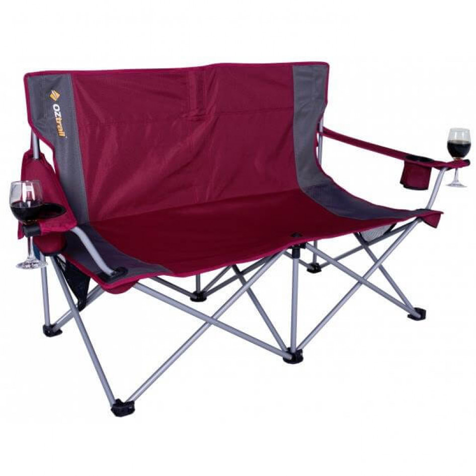 Double Camping Chair Oztrail Luna Double Chair