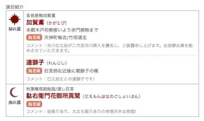 市川海老蔵さんと勘玄 7月大歌舞伎