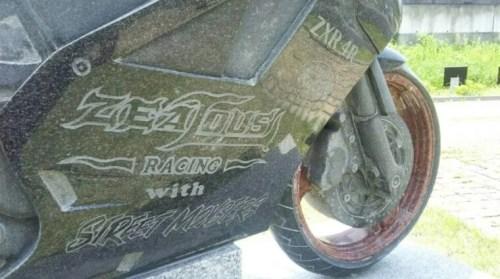 石のバイク カワサキZXR