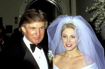 トランプ大統領 離婚歴