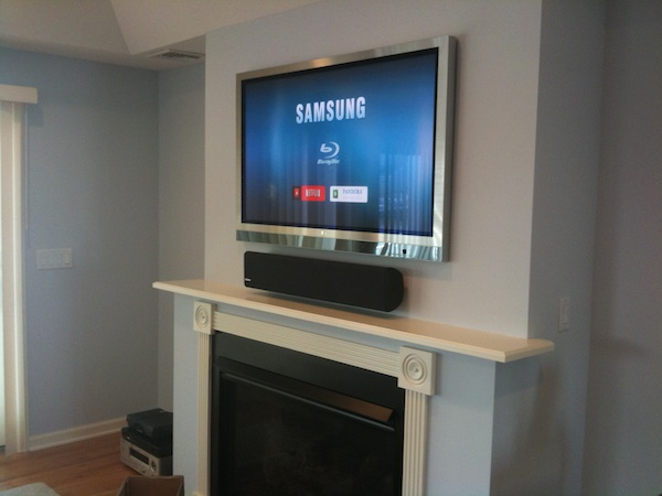 Family Room Design Tv