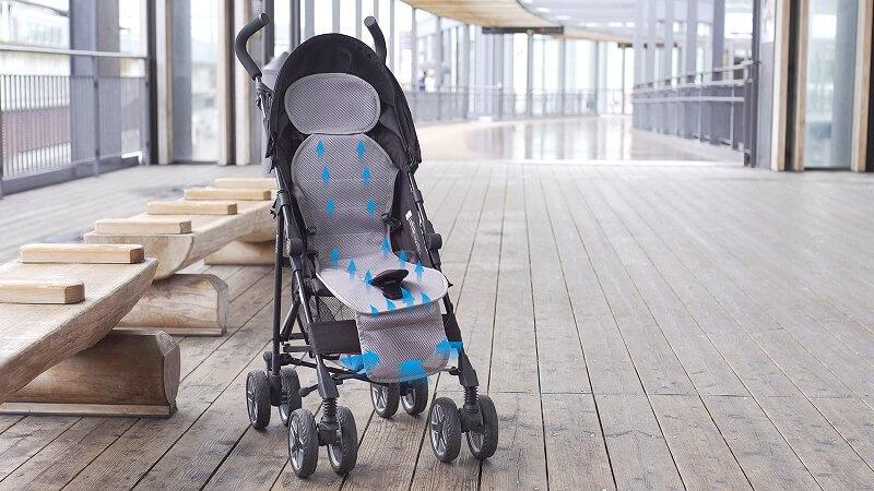 子供の熱中症対策に最適! ベビーカー&車内用空冷シートがお得002