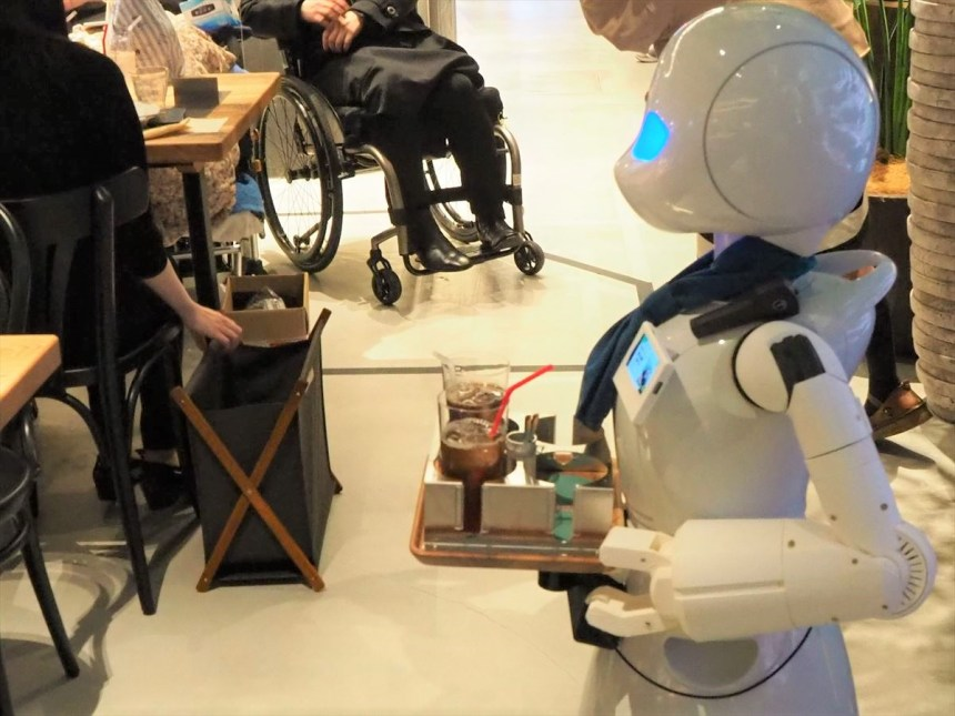 分身ロボットカフェ DAWN ver.β