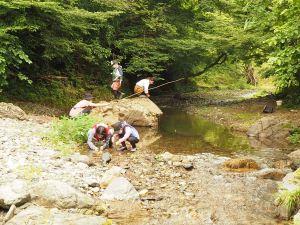埼玉県飯能市 四季冒険部 川釣り体験
