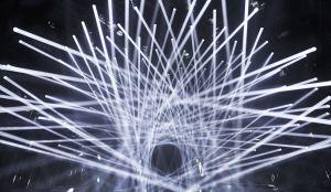 チームラボボーダレス 光の彫刻