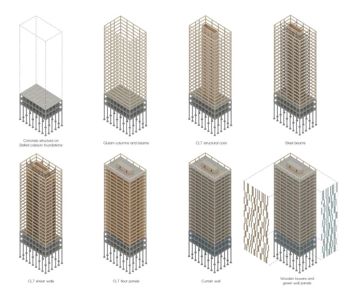 wood skyscraper future architecture