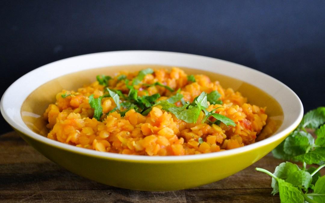 Magic from unfresh ingredients: Masoor Dal