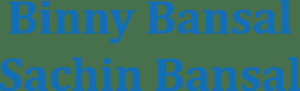 binny-bansal-sachin-bansal