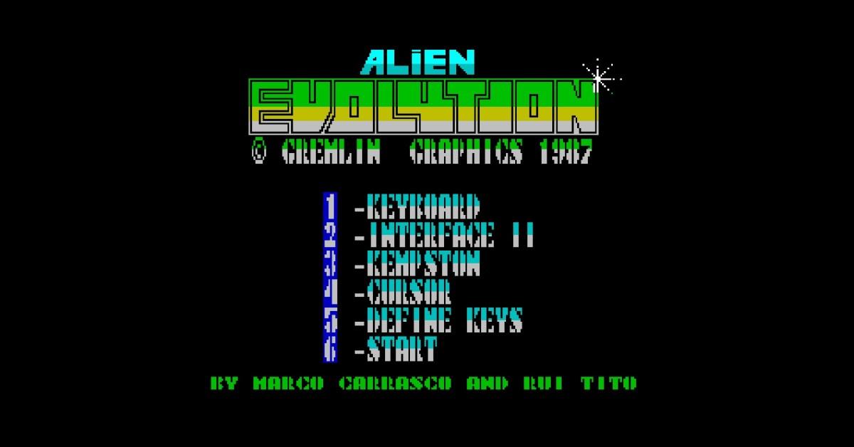 Videojogo português Alien Evolution