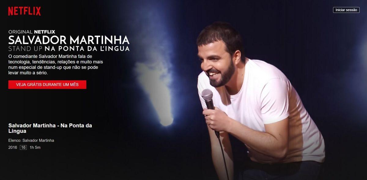 Netflix Salvador Martinha