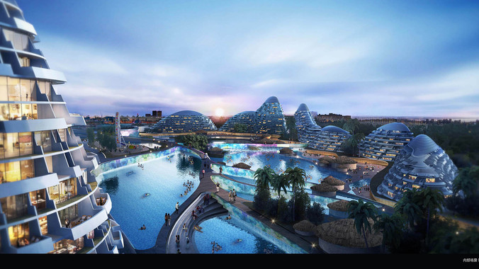 An artist's impression of the potential Modderfontein transformation