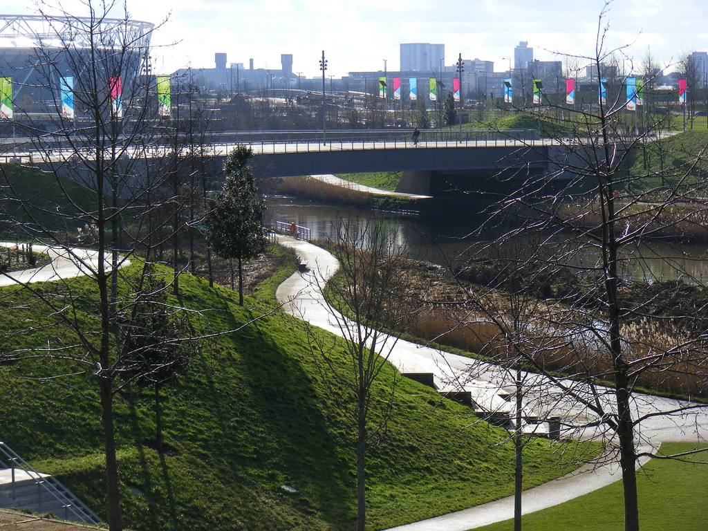 London's Olympic Park. Source: sludgegulper/ flickr