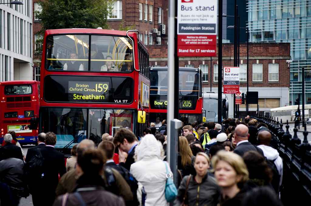2014 marks the 60th anniversary of London's iconic Routemaster bus, Source: CGP Grey/ flickr