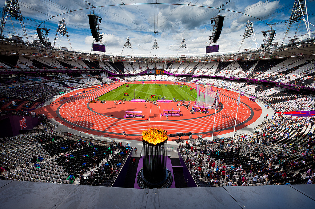 London's Olympic Stadium. Source: jonno101101/ flickr
