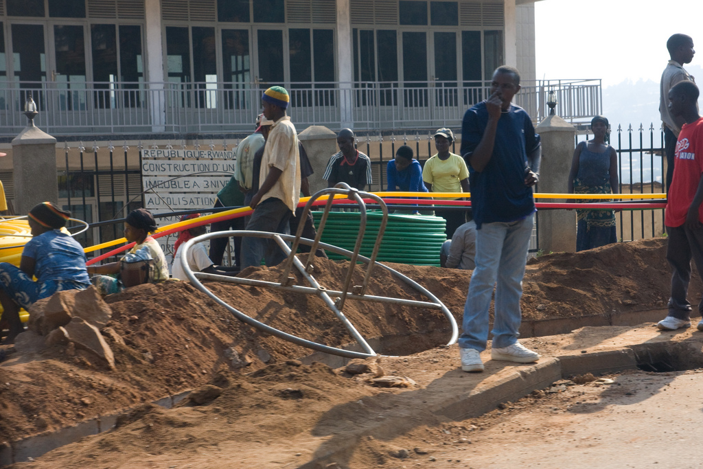 Laying Fibre Cable