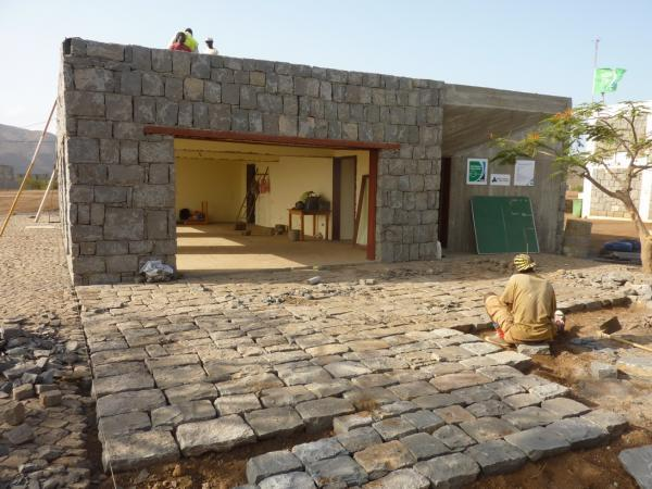 Tarrafal Football For Hope Centre, Cape Verde. Image Courtesy of Open Architecture Network