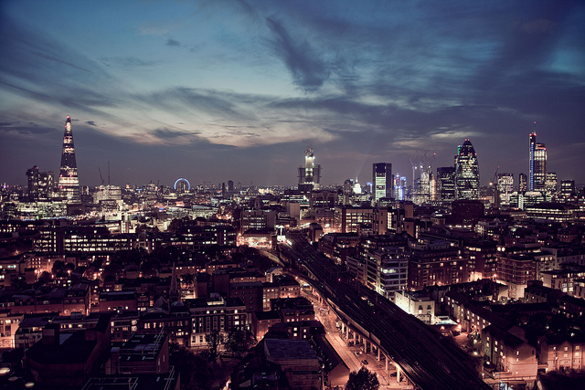 London's evolving skyline. Source: raph.ae// flickr
