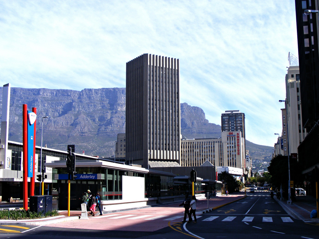 Adderly Street Station a week before its official opening to the public. Photo by @andre_wessels