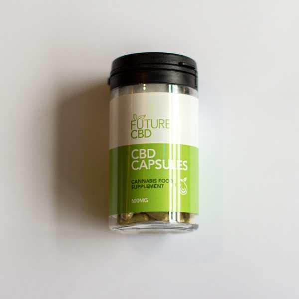 CBD Capsules (60pcs:600mg) Vegan