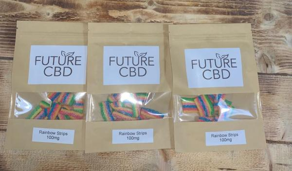 CBD Rainbow Strips (100mg)