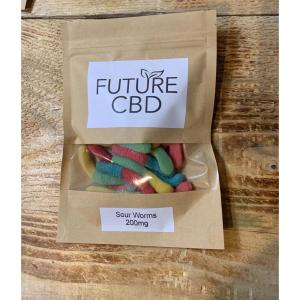 CBD Sour Worms (200mg)