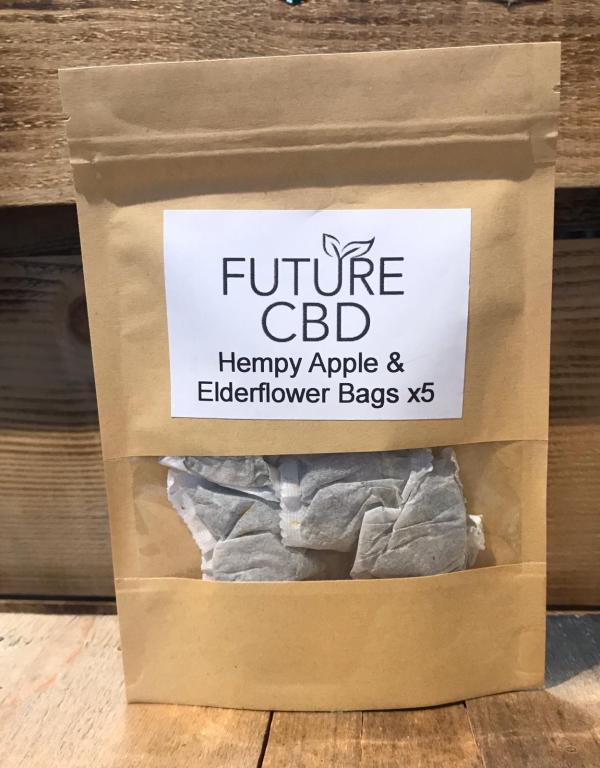 Hempy Apple & Elderflower Tea Bags (5pcs)