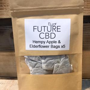 Hempy Apple & Elderflower Tea Bags (5pcs)