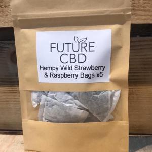 Hempy Wild Strawberry & Raspberry Tea Bags (5pcs)