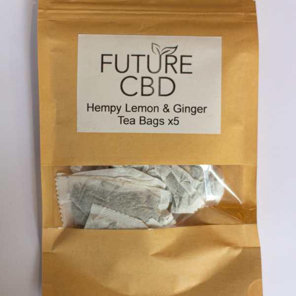 Hempy Lemon & Ginger CBD Tea Bags (5pcs)