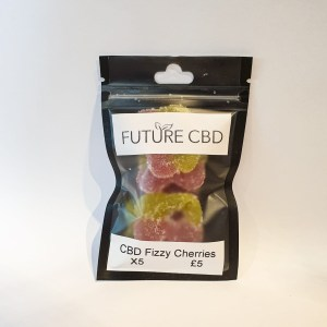 CBD Fizzy Cherries Vegan (125mg)