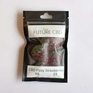 CBD Fizzy Strawberries Vegan (125mg)