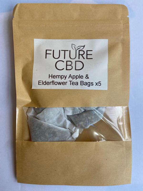 Hempy Apple & Elderflower CBD Tea Bags (5pcs)