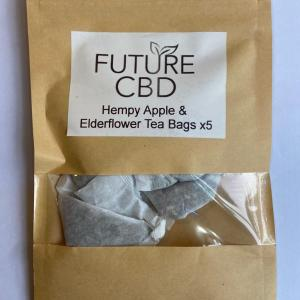 Hempy Apple & Elderflower CBD Tea Bags (5pcs)