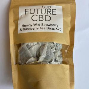 Hempy Wild Strawberry & Raspberry CBD Tea Bags (20pcs)