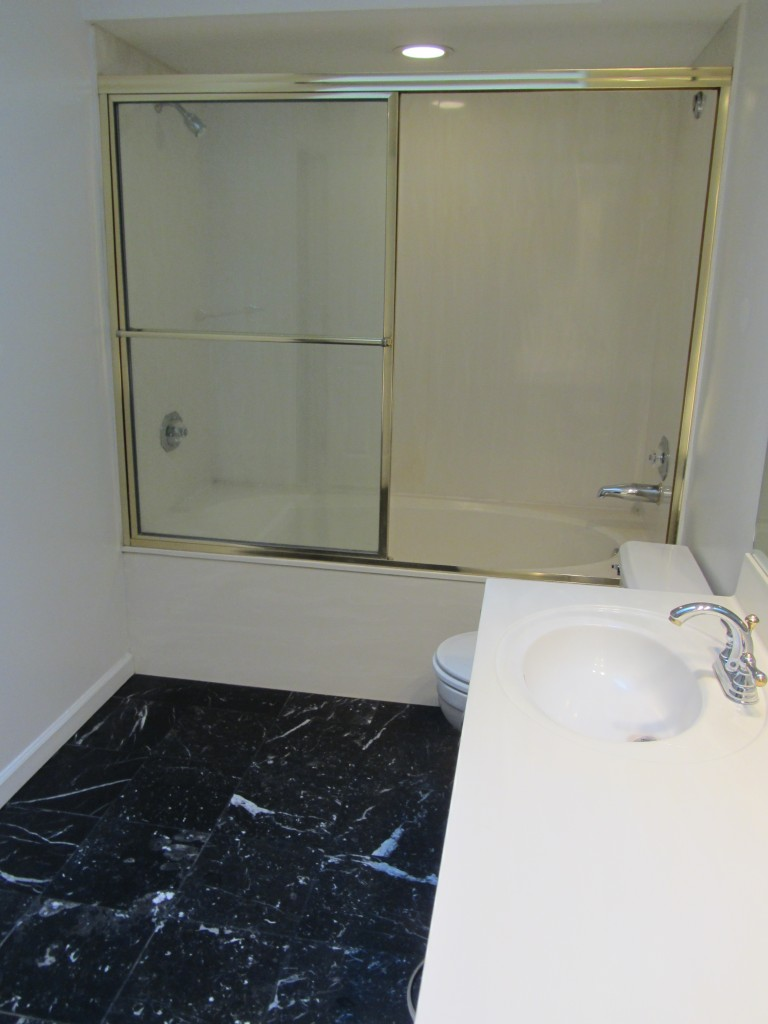 Add a Separate Shower and Tub to a Skinny Bathroom