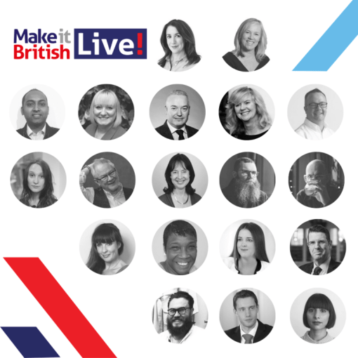 Speaker line-up for Make It British Live 2019